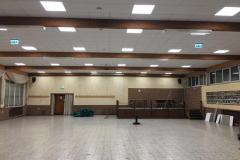 Große Halle, ohne Bühne
