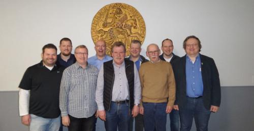 Der neue Vorstand nach der Jahreshauptversammlung 2020